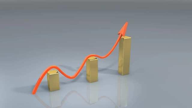 Goldkurs Anstieg