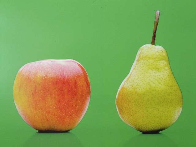 Apfel Birne